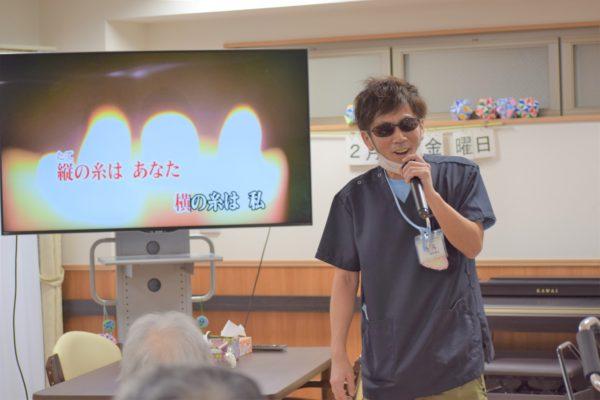 恒例のカラオケ大会  カラオケ♪(*´○`)o¶~~♪